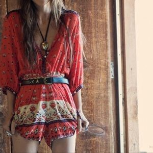 Spell & The Gypsy Collective Desert Playsuit
